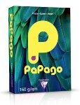 Papago rotorange, farbiger Kopierkarton 160 g/m² A4