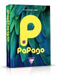Papago rotorange, farbiges Kopierpapier 80 g/m² A3